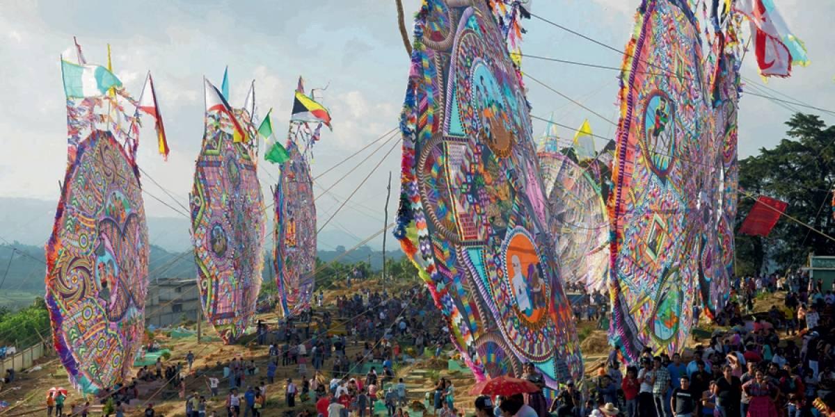 Barriletes Gigantes Sumpango, Guatemala